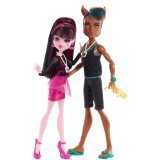 Monster High - Clawd Wolf and Draculaura Music Festival (Monster High Halloween Wolf Doll)