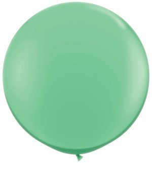 Single Source Party Supplies - Round 36 (3') Fashion Wintergreen Latex Balloons by Single Source Party Supplies