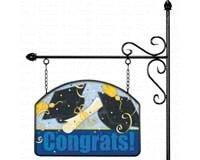 Congrats Garden Sign