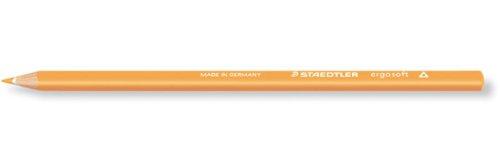 Staedtler Ergosoft Coloured Pencil - Light Orange (Pack of 12)