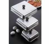 Aluminum Basting Cover (American Metalcraft BASQ620 Basting Cover, Aluminum, Square, 6