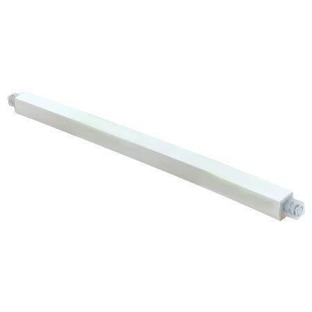 Ez-Flo 15194 Adjustable Plastic 36-Inch Towel Bar White Plastic by EZ-Flo