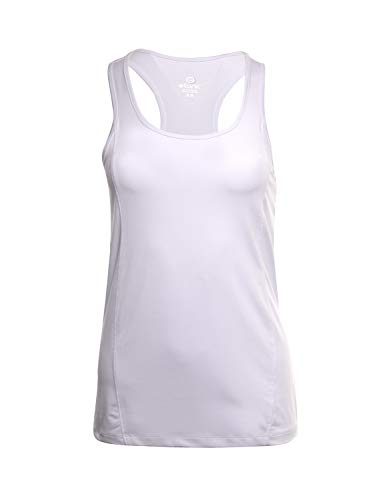 Etonic Women's Stretch Athletic Tennis Tank Top (X-Large, White)