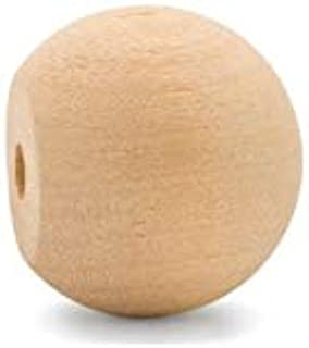 product image for Unfinished Wood Ball Knobs 1 inch for Kitchen Cabinet Knobs, Drawer Knobs, Dresser Knobs and Crafts, Pack of 500, by Woodpeckers