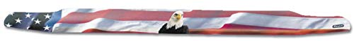 Stampede 3133-30 Vigilante Premium Hood Protector for Ford (American Flag with Eagle)