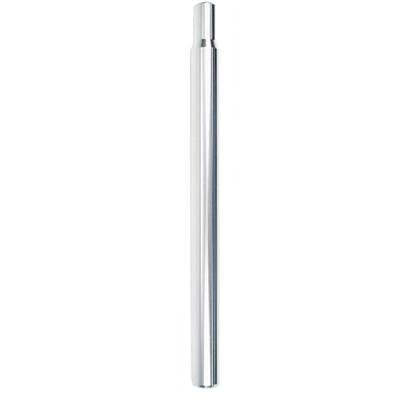 Kalloy Alloy-Straight Bicycle Seatpost (Silver - 27.0 x 350)