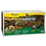 reptile starter kit with tank - Tetra Usa STS20003 Turtle Kit for Aquarium, 15-Gallon