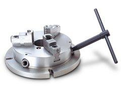 Low Profile Machining Chuck LMC Workholding 8-inch Self Centering 3-Jaw Super Thin