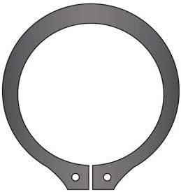USA Stamped DIN 471 Spring Steel Pkg of 55 DSH-050 50mm External Snap Ring Standard Duty