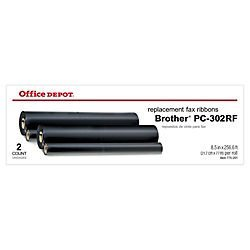 Office Depot PC-302RF Thermal Transfer Refill Rolls, Plain Paper Fax Ppf 750//Mfc-970Mc/Others, ...