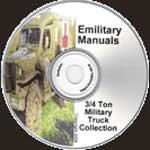 3Qtr Ton Military Truck CD