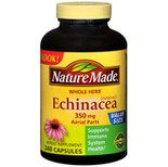 Nature Made Echinacea 350 mg, 240 Capsules (Pack of 2)