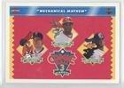 Jim Abbott; Ken Griffey; Ken Griffey Jr. Jim Abbott, Ken Griffey, Ken Griffey Jr. (Baseball Card) 1992 Upper Deck Comic Ball 3 - [Base] #19