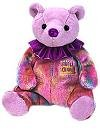 Ty Beanie Baby February Amethyst Birthstone Teddy Happy Birthday Bear