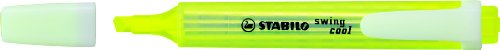 STABILO swing cool gelb, 10er Faltschachtel - Textmarker