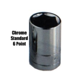 1.25' Socket (KTI KTI28123 Socket (1/2 Drive Short 23MM))