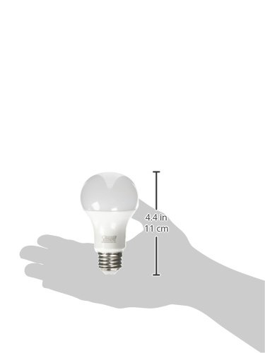 "Feit Electric A800/850/10KLED 60W Equivalent Non-Dimmable 800 Lumen A19 LED Light Bulb, 4.2"" H x 2.4"" D, 5000K Daylight"