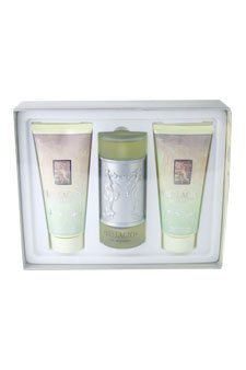 (Bellagio by Bellagio for Women - 3 Pc Gift Set 3.4oz EDP Spray, 6.8oz Body Lotion, 6.8oz Shower Gel )