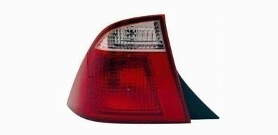 2005-2007 Compatible with Ford FOCUS BLACK HOUSING AUTOMOTIVE NEW REPLACEMENT TAIL LIGHT LEFT HAND TYC 11-6094-01