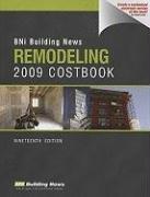Bni Remodeling Costbook 2009