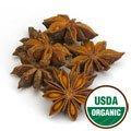 Anise Star Whole Organic - Illicium verum, 1 lb,(Starwest - Organic Star