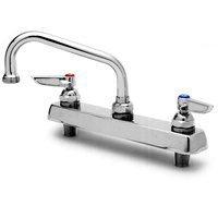 T&S Brass B-1124 Work Board Faucet, Deck Mount, 8