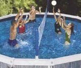 (Swimline Cross Pool Volly Above ground Vollyball Game)