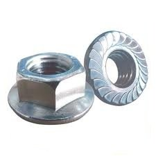 M3 Serrated Flange Nuts (10 PACK) A2 Stainless Steel 3mm Metric Thread Flanged Nut Free UK Delivery DBA Hardware