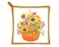 Pumpkin Bouquet Potholder