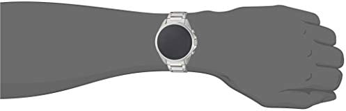Armani Exchange Men's Smartwatch Powered with Wear OS by Google with Heart Rate, GPS, NFC, and Smartphone Notifications 214WWTER 2BiL