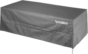 Duravit Sundeck cover for bathtub long, version with panel, without pillar,