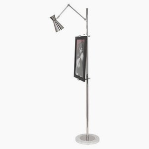 (Robert Abbey S706 Lamps with Metal Shades, Polished Nickel Finish)