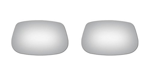Glass Mirror Electra Buick - Burco Left & Right Mirror Glass for Apollo, Century, Electra, LeSabre, Regal