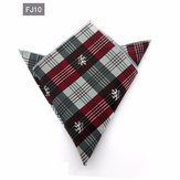 Style Hanky - Fashion Handkerchief Suit Style Dot Paisley Pocket Square Tie - Manner Hankie Mode - 1PCs
