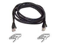 Belkin A3L850-10-BLK-S 10 ft. Cat 5E Black Color Fastcat Patch Cable Snagless ()