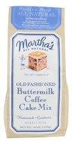 Martha's Old Fashioned Cake Mix Buttermilk Coffee -- 16 oz - Old Fashioned Coffee Cake