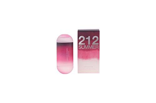 Carolina Herrera 212 Summer Eau de Toilette Spray for Women, 2 ()