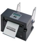 Citizen America CL-S400DTETU-R-CU CL-S400 Series Direct Thermal Barcode Printer with Internal Power Supply, Cutter, Ethernet, 203 DPI Resolution, 120V, Black