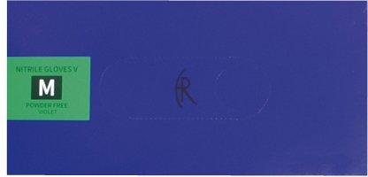 【正規品直輸入】 ニトリルグローブV(バイオレットブル FR-5002(M)100 B07BD2Y37L FR-5002(M)100 V((24-6733-02)【ファーストレイト】[40箱単位] B07BD2Y37L, ココパーム:1f02aced --- senas.4x4.lt
