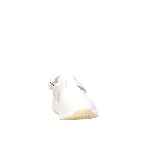 Fluwhbianco Donna Mbt Bianco Sandali Pelle E5rEnzIq