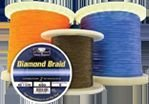 Momoi's Diamond Braid - 80lb. 1200yd. Offshore Blue