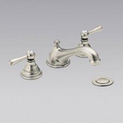 Moen T6105AN/9000 Kingsley 8'' Widespread Bathroom Faucet - Antique Nickel