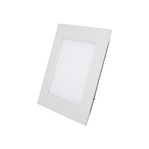 Painel De Led Embutir Quadrado 30000h Dican Branco 11 X 11 Cm
