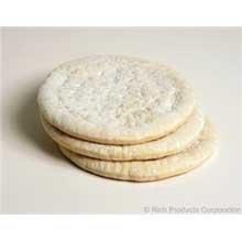 Rich Della Suprema Raised Edge Par Baked Pizza Crust, 4.7 Ounce - 48 per case.