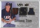 Blake Smith  143 149  Baseball Card  2008 Upper Deck Usa Baseball Teams   National Team Game Used Jersey  Nt Bs