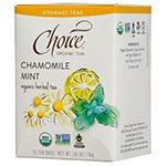 Choice Mint - Choice Tea Chamomile Mint Tea, 16 ct