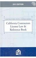 California Contractors License Law & Reference Book with CD-ROM
