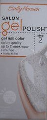 Sally Hansen Salon Gel Polish: Silver Shinings #102 by CoCo-