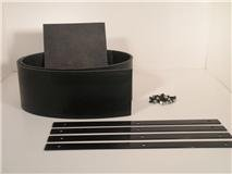Universal V-Plow Snow Plow Deflector KIT for Boss MSC01565 by Plowrubber