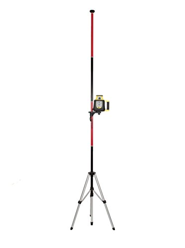Nuts Laser - AdirPro Telescoping Pole with Tripod and Mount for Rotary and Line Lasers